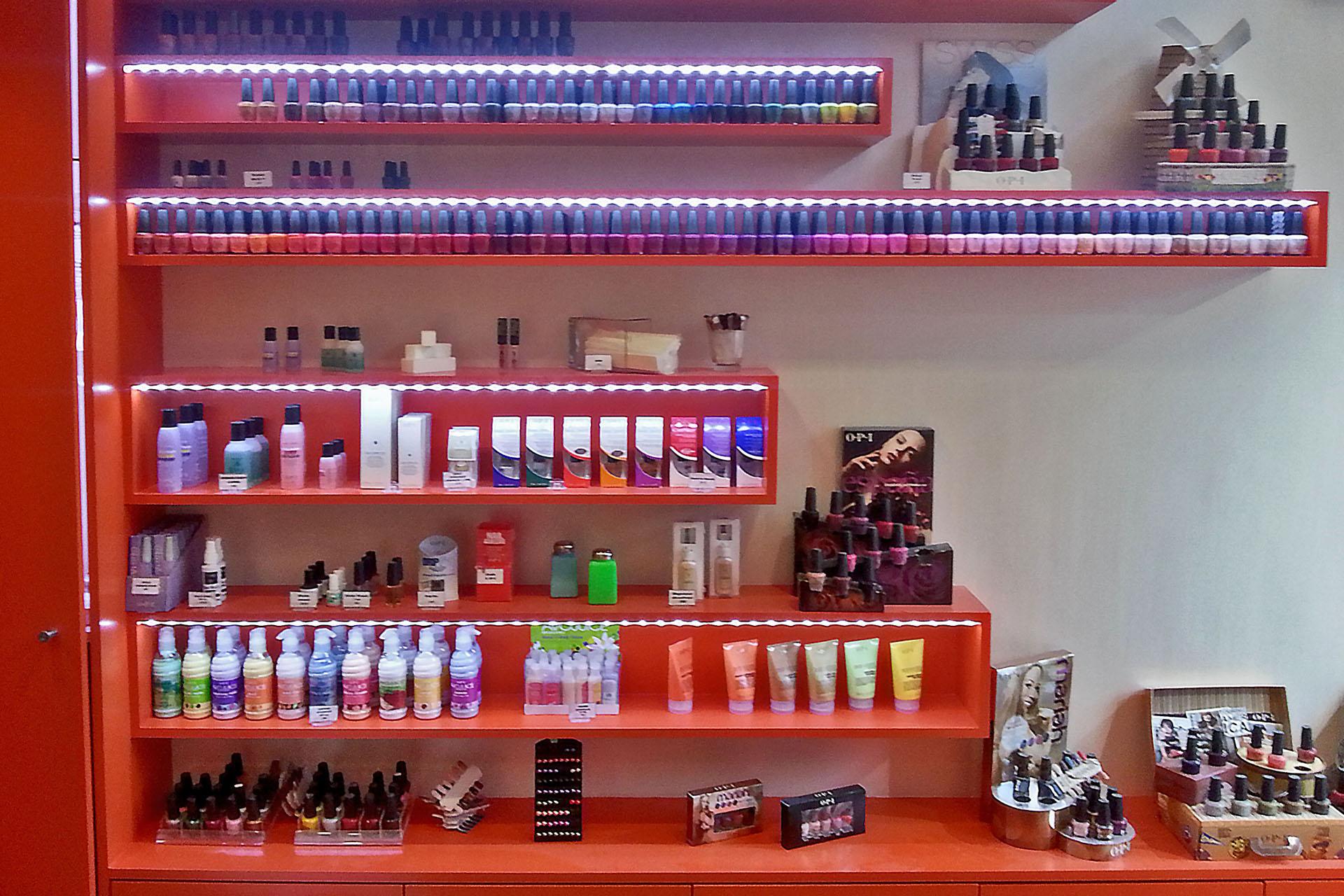 Rénovation boutique et commerce : onglerie