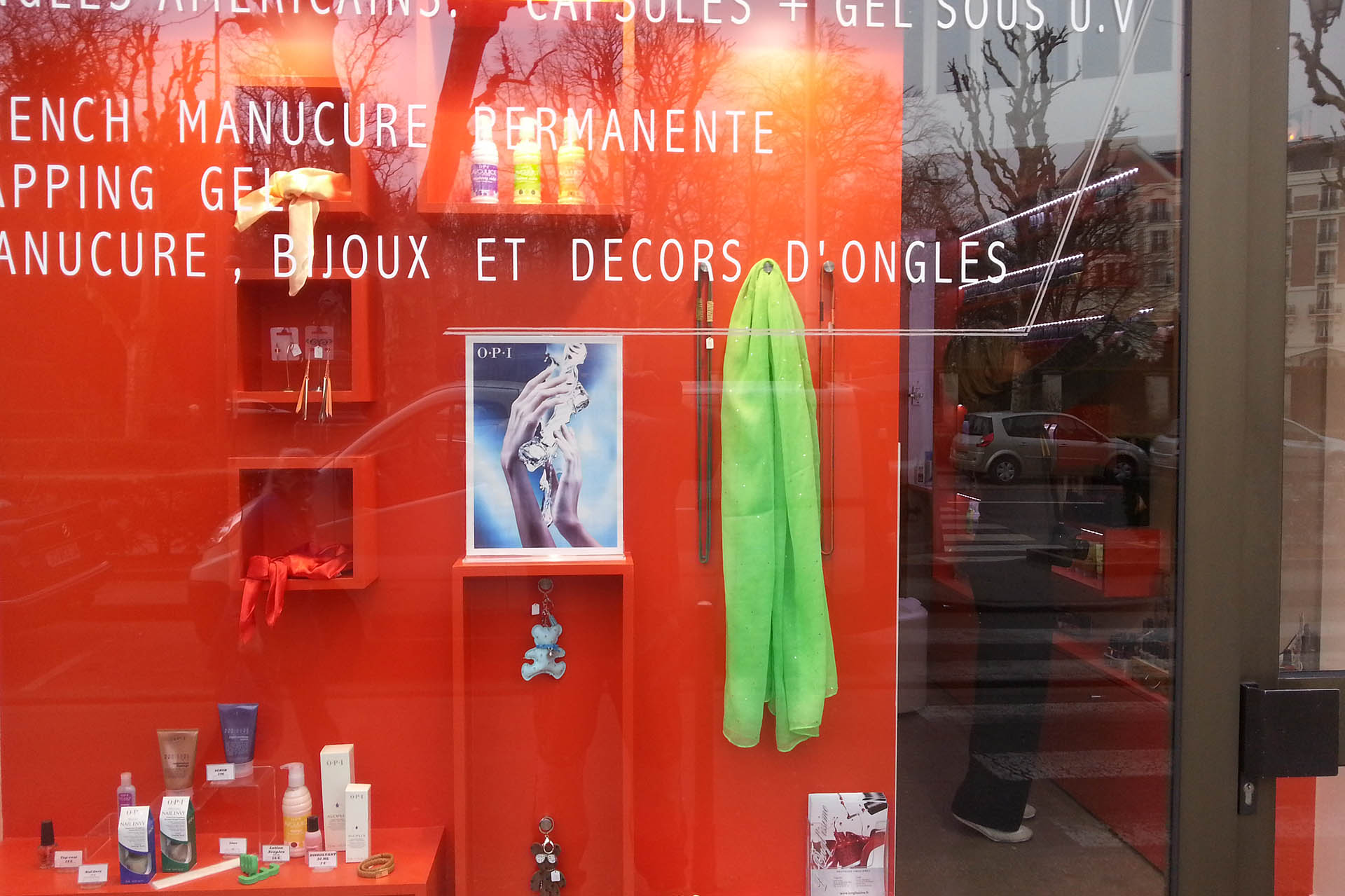 Renovation boutique onglerie Paris