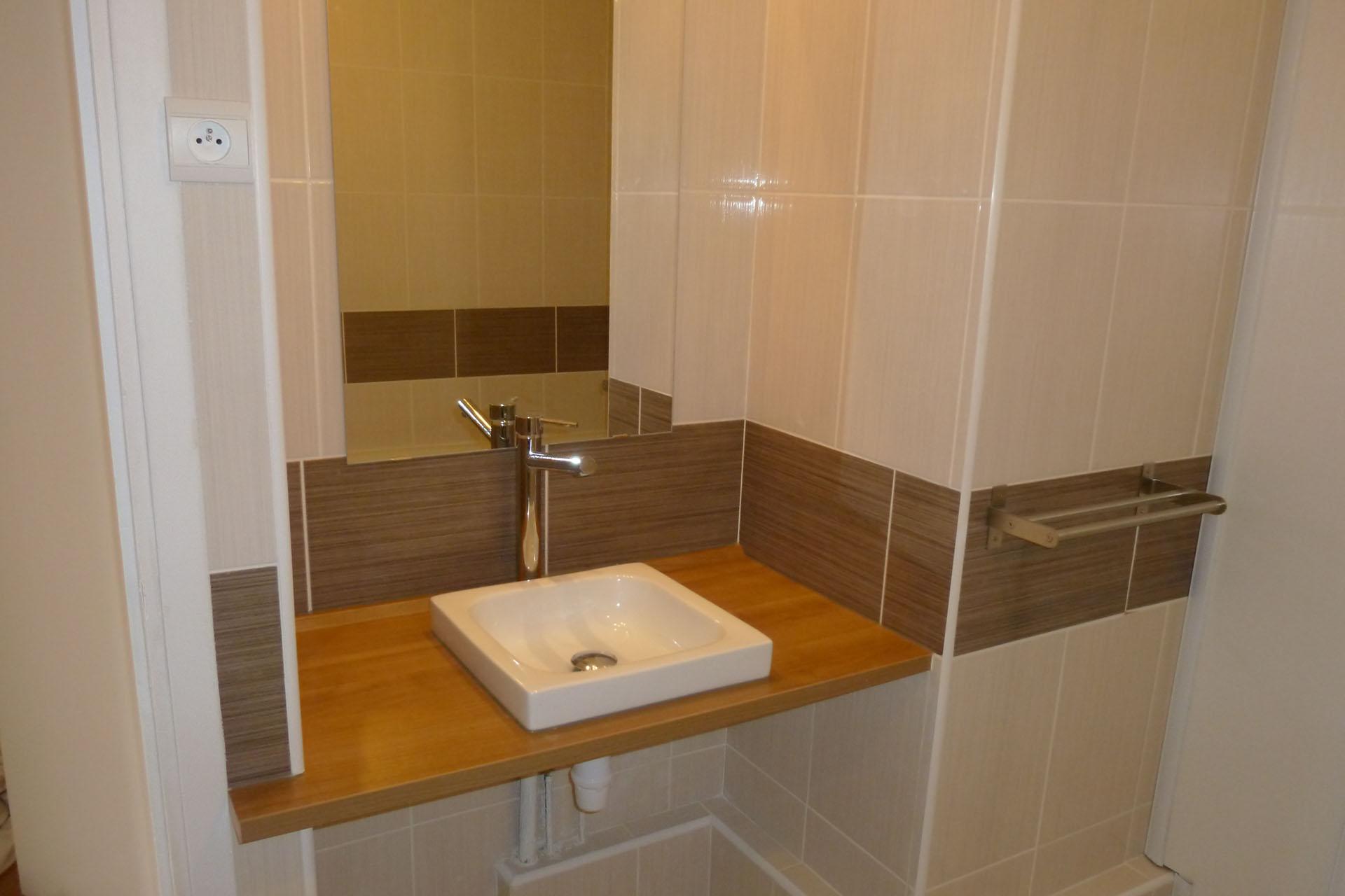Entreprise de rénovation d'une salle de bain